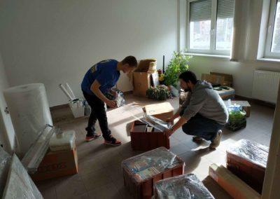 Stěhování kanceláře zPrahy do Loun