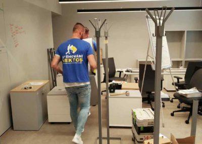 Stěhování kancelářské skříňky