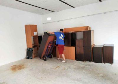 Uložení nábytku