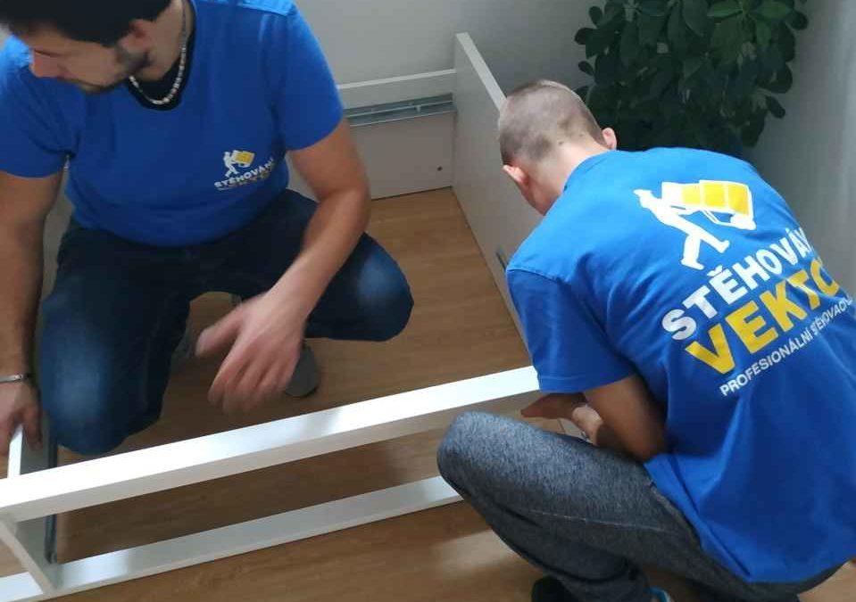 Stěhování a montáž dětských postelí
