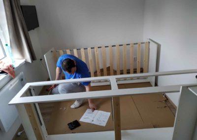 Stěhování a montáž nábytku Zdiby