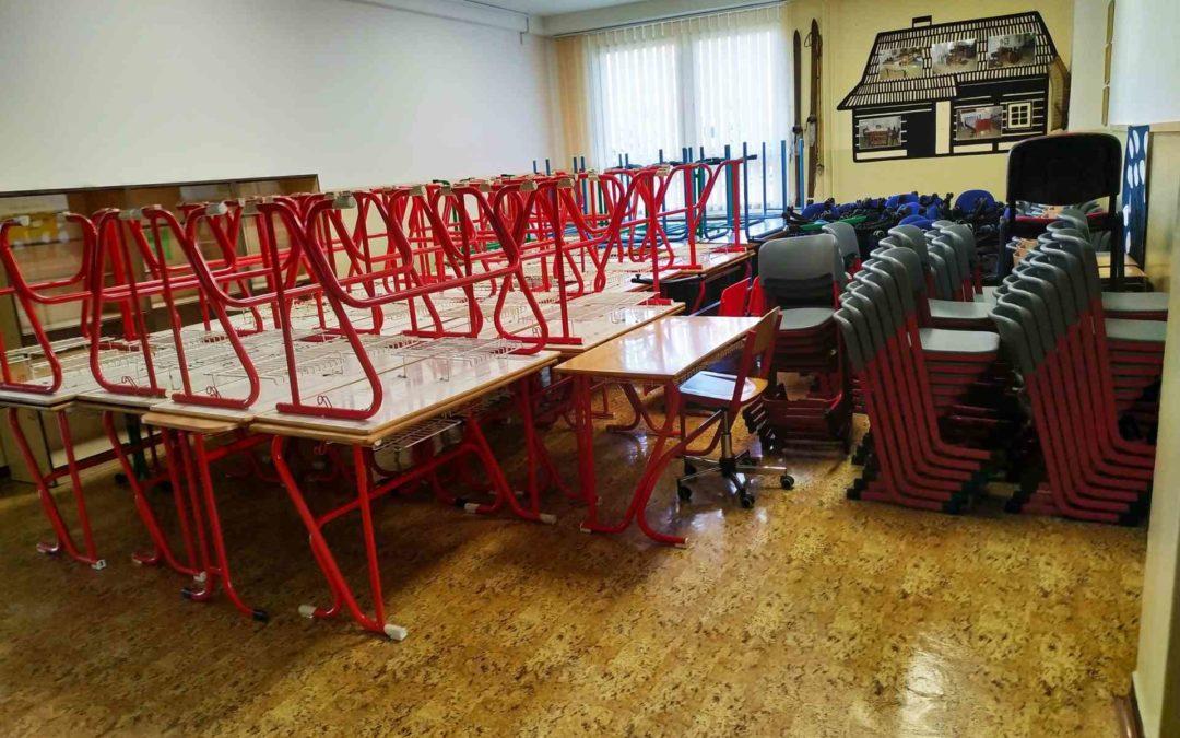 Stěhování školy Praha 9