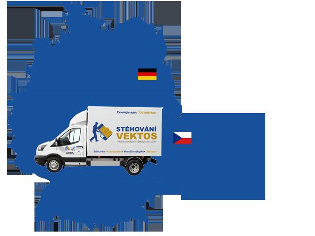 Stěhování Německo